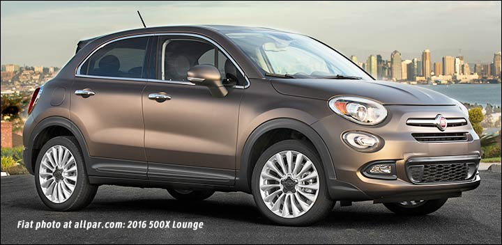 2016 fiat 500x a long crossover with 500 styling. Black Bedroom Furniture Sets. Home Design Ideas