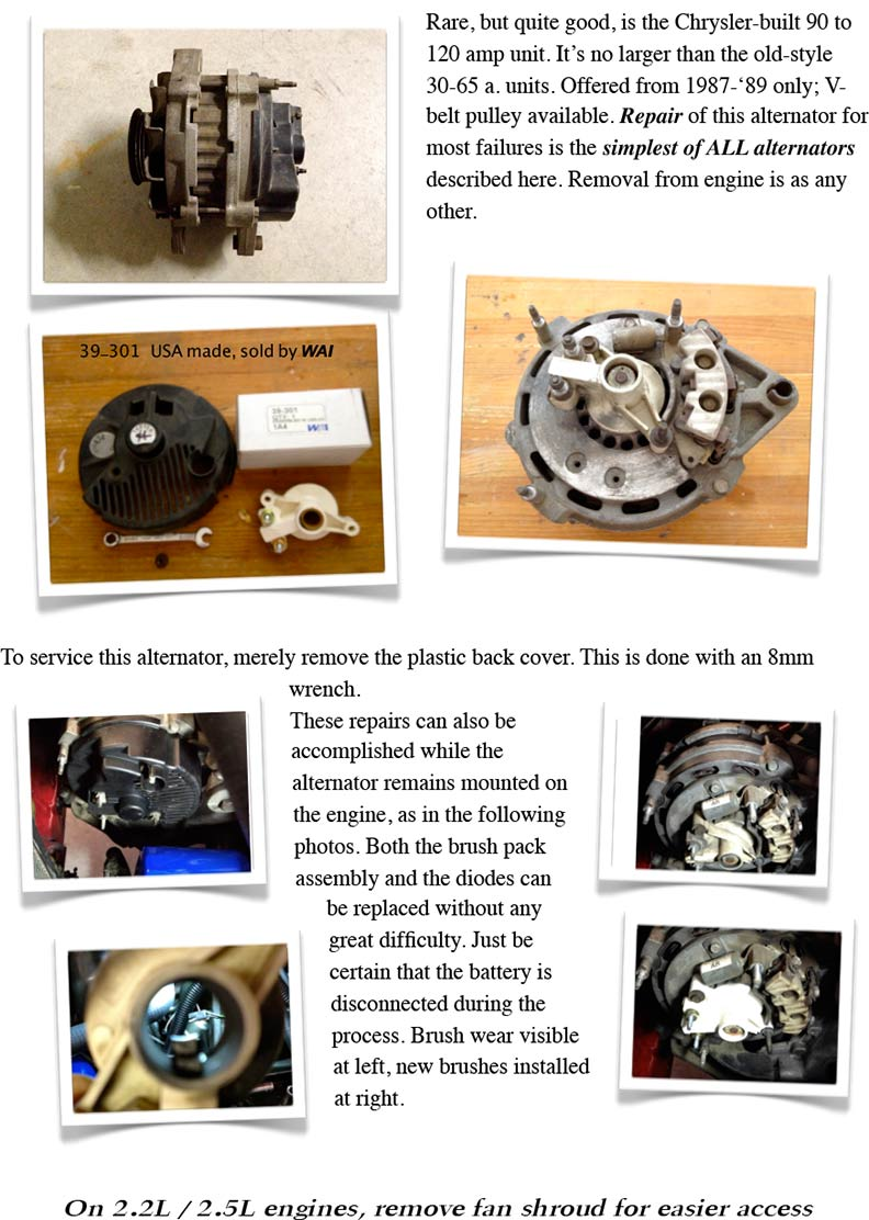 Vintage Chrysler Electrical Repairs And Updates Gear Heads Sbc Hei Wiring Diagram Alternators