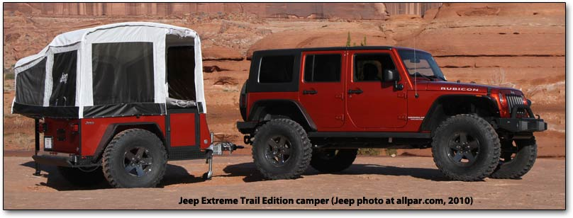 Extreme Trail Edition camper from Jeep