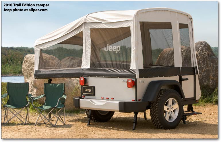Jeep camper - Trail Edition