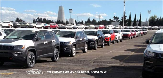 Jeep Compass at Toluca