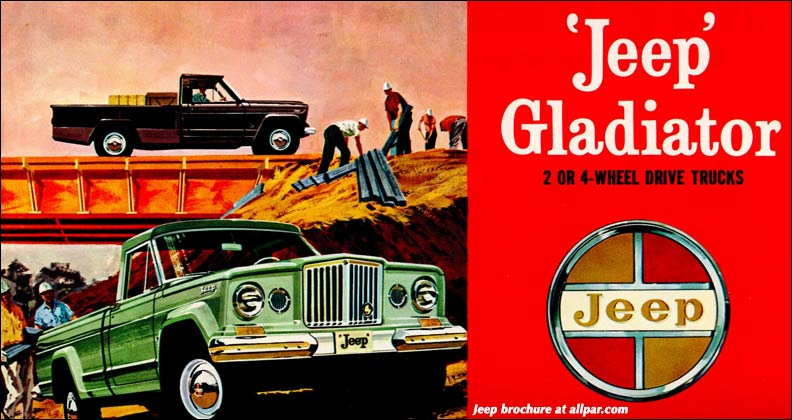1963 jeep gladiator brochure