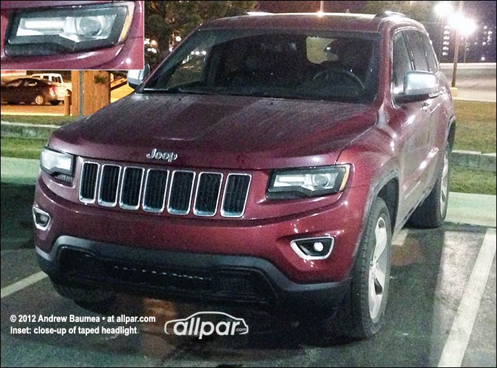 2014 Jeep Grand Cherokee spy shot