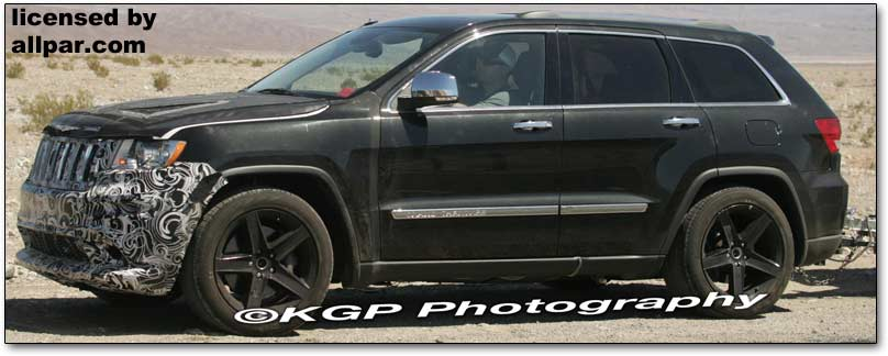 News Jeep Grand Cherokee Srt8 Revealed