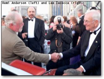 Lee Iacocca and Hemi Anderson