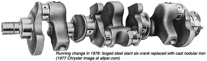nodular crankshaft