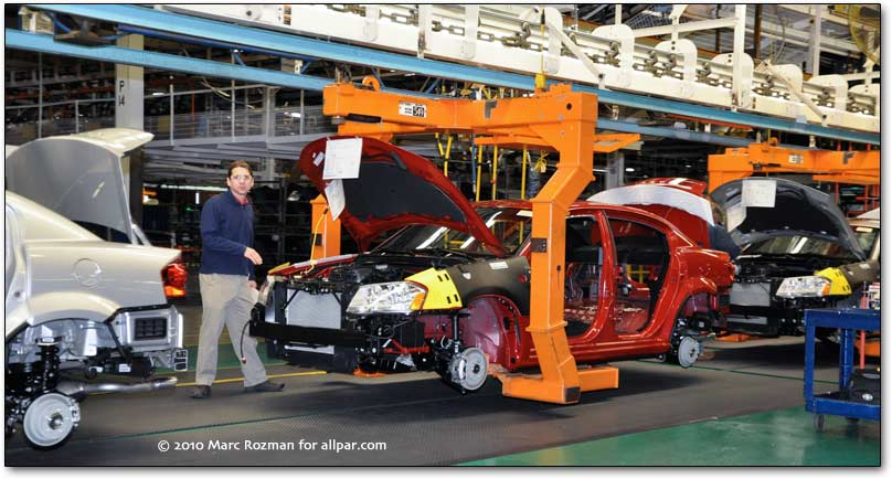 2011 dodge avenger assembly line