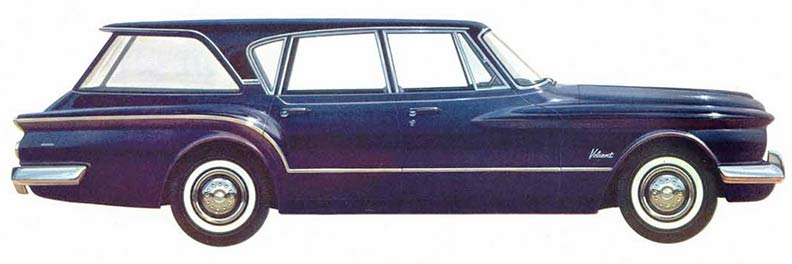 1960 Chrysler Valiant Estate history and custom model cars