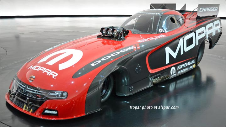 Dodge Charger NHRA car