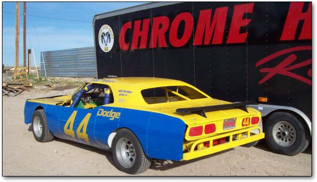 Dodge Challenger racing body