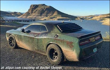 The Dodge Challenger Rallycat 707 Off Road Horsepower