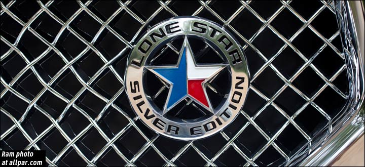 Lone Star Silver Edition badge
