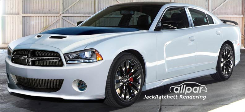2015 Dodge Charger rendering