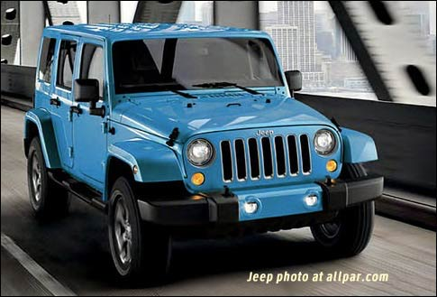 2017 Jeep Wrangler in Chief Blue