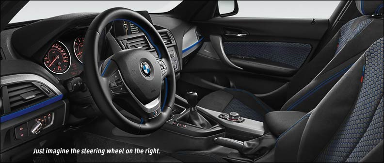 inside the BMW