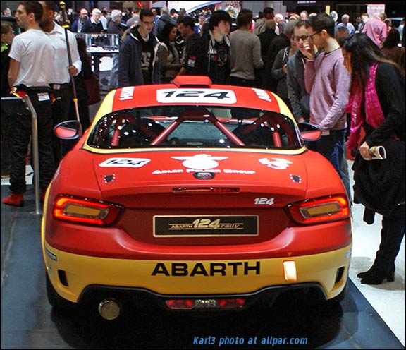 abarth 124 rally car