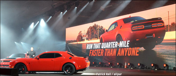 2018 Dodge Demon take rates