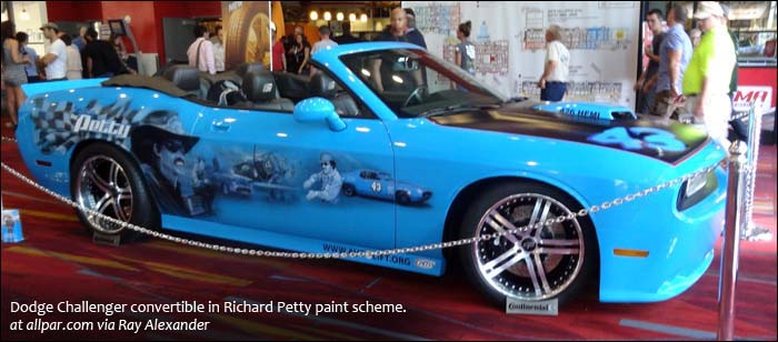 Richard Petty Challenger convertible