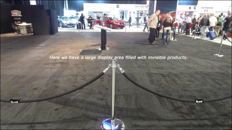 empty space at SEMA