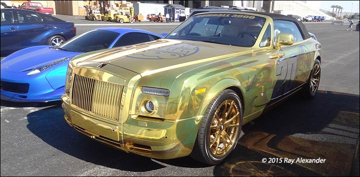 gold rolls royce