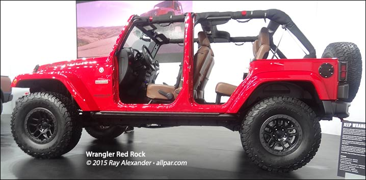 wrangler red rock