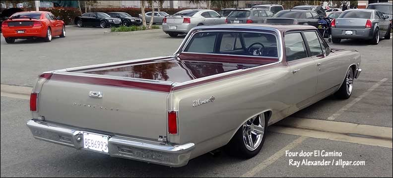 four door El Camino