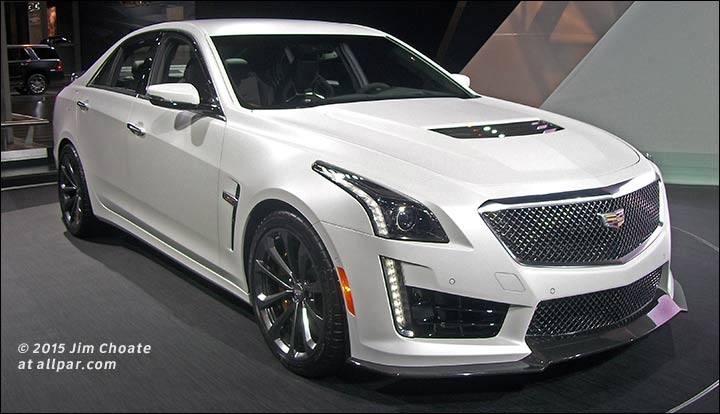 Cadillac Ats V Coupe >> The Competition: 2015 Chicago Auto Show (#CAIS15)