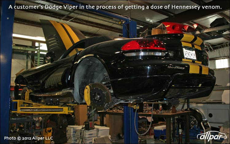 Viper in Hennessey shop