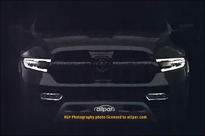 2019 Ram grille
