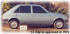 Chrysler - Talbot Horizon C2 style side view