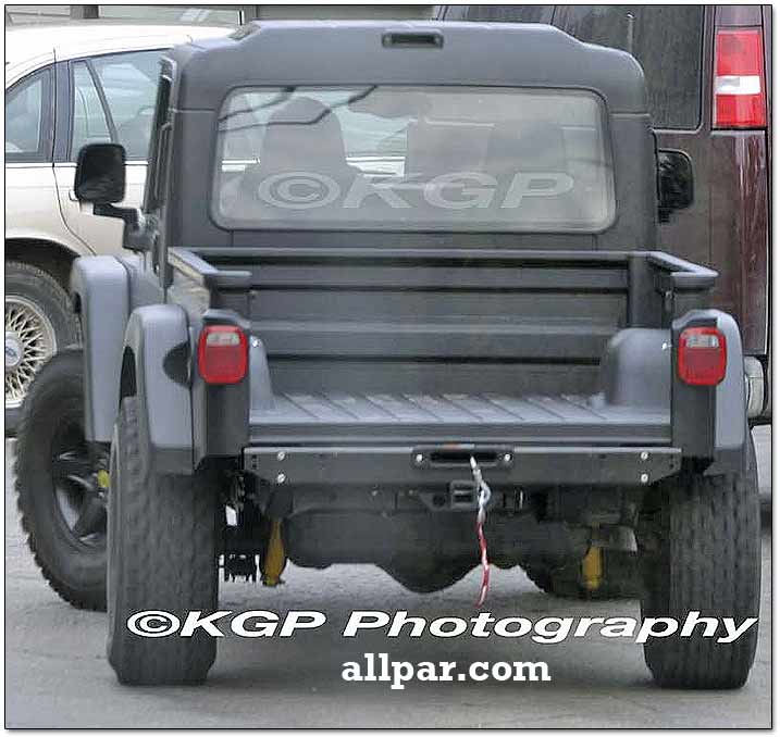 scrambler pickup - jeep sema concept car