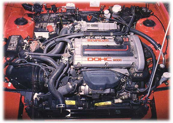 1989 plymouth laser - turbocharged engine (2.0 DOHC)