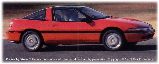 1989 Plymouth Laser car reviews